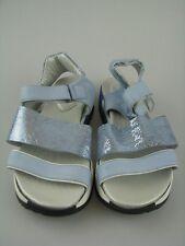 Daniel Hechter HJ7980-1 Damen Sandale blau Leder Gr.37