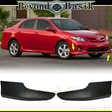 2011 2012 2013 Toyota Corolla S-Style 2 PC Front Chin Bumpers Body Kit
