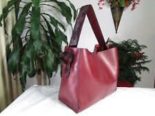 NWT Co - Lab Designed Montreal Leather Shoulder Bag Wine