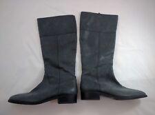 NEW Gorgeous Womens JCrew Black Leather Nottingham Zip-Up Riding Boots 11