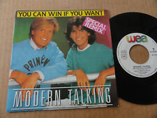 """45T MODERN TALKING  """" YOU CAN WIN IF YOU WANT """""""