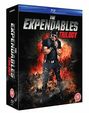 The Expendables Trilogy 1 2 3 1-3 Blu-ray box set Region B new SEALED
