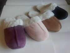 BT-1830 Women's Warm Slippers Soft Slip On House Shoes Size 5-10