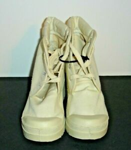 Chinese Laundry Ankle Boots Women 5 Off White Canvas Lace up