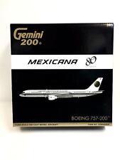 Gemini Jets 1:200 Mexicana BOEING 757-200 80 anuversario G2MXA806