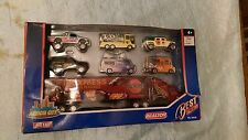 REALTOY Action City Metal, Best Collection. Vans, Trucks and Large Semi, Diecast