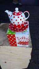 Teekannen Set Porzellan 4-tlg.  im Geschenkkarton 500 ml