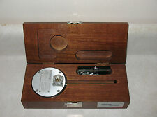 GRASS INSTRUMENTS VOLUMETRIC PRESSURE TRANSDUCER PT5-B w/ WOODEN CASE