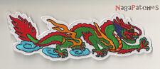 Ecusson écusson Dragon Céleste thermocollant patch DIY ornement
