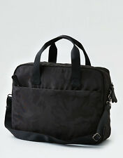 """American Eagle Outfitters AEO MESSENGER BAG Black Camo Fits 16"""" Laptop NEW"""