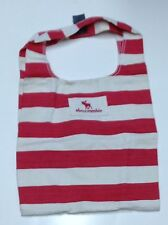 NWT Abercrombie & Fitch Abercrombie Kids Red White Purse Tote Book School Bag