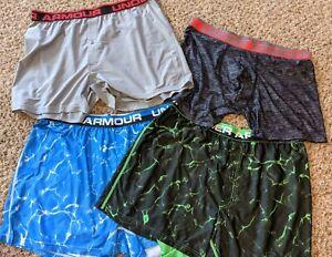 Set of 4 Under Armour Shorts Boxer Briefs Boxerjock Men's XL