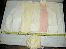 Old Vintage lot 6 Kids Child Clothes Tops Dresses Ruffles & Bonnet