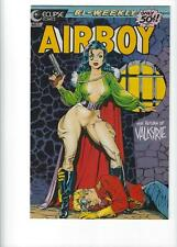 Airboy #5, Dave Stevens Cover, VF 8.0, 1st Print, 1986, Eclipse, See Scan
