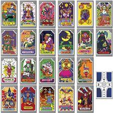 Mazzo Tarocchi Arcani Maggiori - JoJo - Tarot Deck - Major Arcana (22 Cards)