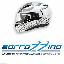CASCO INTEGRALE AIROH MOVEMENT SHOT WHITE GLOSS - BIANCO TG.XL COD.MVSH38