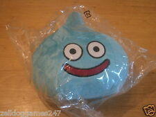 OFFICIAL DRAGON QUEST BLUE SLIME PLUSH SOFT TOY BUILDERS HEROES - NEW & SEALED