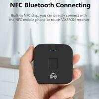 Wireless Bluetooth Receiver 5.0 LL RCA NFC 3.5mm Jack Adapter Audio Au D6K5