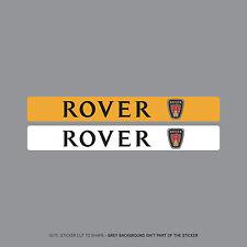 Sku2081-Rover Targa DEALER LOGO ADESIVI COPERCHIO - 140mm x 18 mm