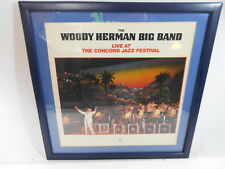 Vintage Woody Herman Autographed Album Cover Autograph Big Band Signed Signature