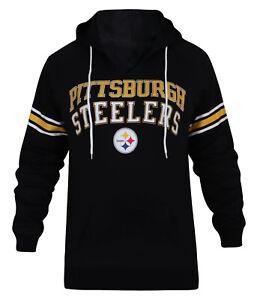 Women's Pittsburgh Steelers Casual Sweatshirt Sporty Hoodies Warm Pullover