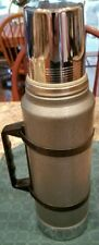 Vintage Aladdin Stanley Thermos Vacuum Insulated Bottle A-944C 1 QT Green