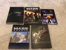 MASS EFFECT LOT: ME1, ME2, ME3 Collector Edition Guide, Art of Mass Effect books