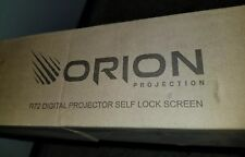 "*BRAND NEW* Orion R72 Digital 72"" Projector Screen MSRP $1249!!! Theater Quality"