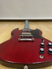 More details for gibson sg special 2018 cherry red mini humbuckers (satin semi gloss) w/case
