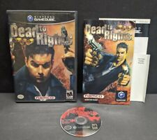 Dead to Rights (Nintendo GameCube, 2002) Complete