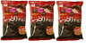 Riska SITTORI Choco Snack Chocolate 80g ×3pcs Japan