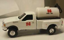 1/64 CUSTOM Ford f350 cenex TRUCK WITH 500 gal bulk diesel fuel ERTL dcp DISPLAY
