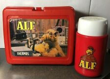 Vintage 1987 Plastic Alf Lunchbox with Thermos