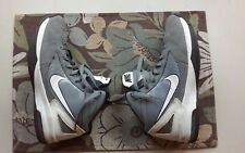 Nike Air Max Flywire Men's gray/white  Basketball Shoes Size 8