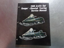 1990 ARCTIC CAT COUGAR/CHEETAH TOURING SERVICE MANUAL COUGAR CHEETAH TOURING