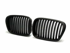 Black Front Wide Kidney Grill For BMW 5series E39 525 528 530 535 M5 98-03