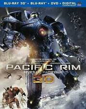 Pacific Rim in 3D  (Blu-ray/DVD, 2013, 3-Disc Set,  3D)