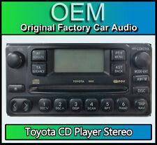 Toyota RAV4 Rav 4 CD player radio car stereo, Toyota 86120-44080 5880 head unit