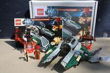 Lego Starwars Anakin's Jedi Interceptor (9494) 100% Complete inc Minifigures