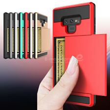 For Samsung Galaxy Note9 Wallet Case Credit Card ID Holder Slim Case Phone Cover