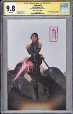 X-Men #12 CGC SS 9.8 Miguel Mercado signed Psylocke VIRGIN cover MARVEL
