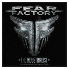 Fear Factory The Industrialist Back Patch Sew On Official Badge Album Band Rock