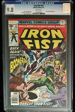 1977 Marvel Iron Fist #13 CGC 9.8 White Pages.
