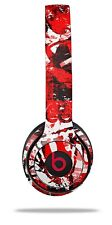 Skin Beats Solo 2 3 Red Graffiti Wireless Headphones Not Included