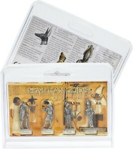 Egyptian Gods Pack of 4 Detailed Miniature Pewter Figures