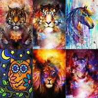 5D DIY Full Drill Diamond Painting Animal Cross Stitch Mosaic Kits Decor