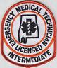 Alabama EMT INTERMEDIATE Emergency Medical Technician patch AL E.M.T. I. EMTI