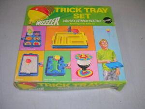 Vintage Whizzzer TRICK TRAY SET No. 4103 Mattel Original Box 1969