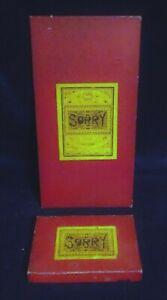 Vintage Sorry Board Game John Waddington 1930s