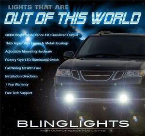 2005 2006 2007 2008 2009 Saab 9-7x Xenon Foglamps Foglights Driving Fog Lamps